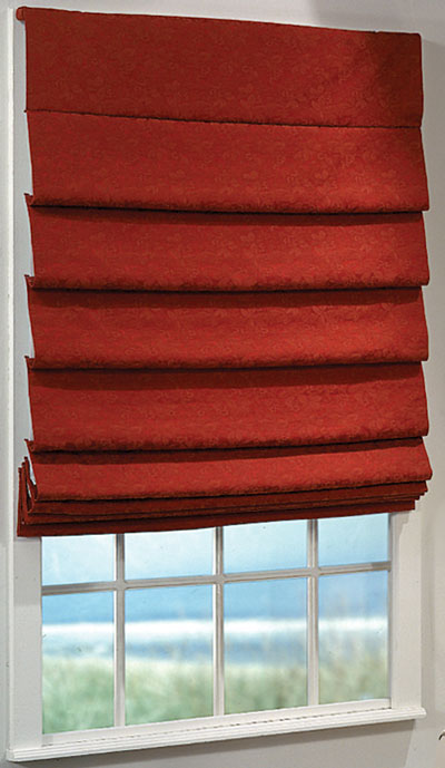 Order Soft Fold Roman Shades With Standard Fabric At Low